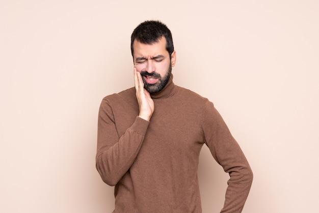 Man met kiespijn