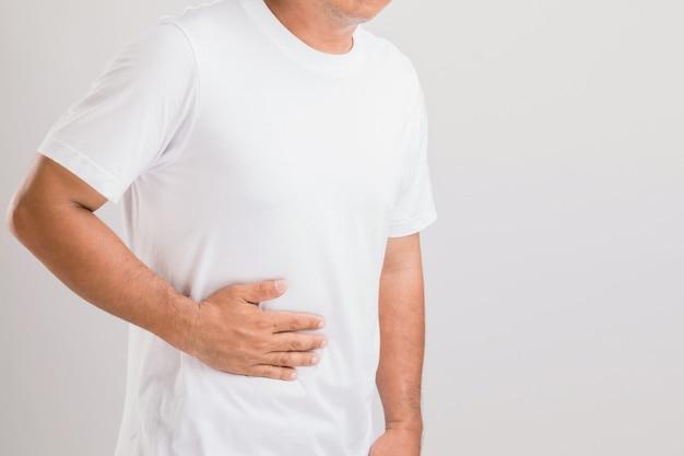 Man met lever- of nierproblemen