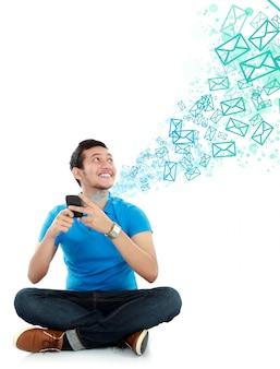 Man sms-bericht