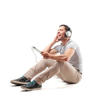 Man zingt een lied