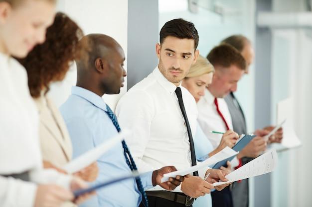 Managers raadplegen