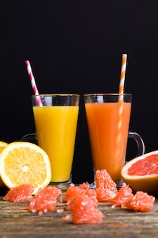 Mandarijnen en grapefruits