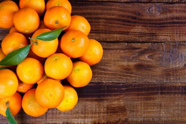 Mandarijnen of mandarijnen van dichtbij