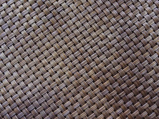 Mandenmakerij patroon textuur achtergrond.