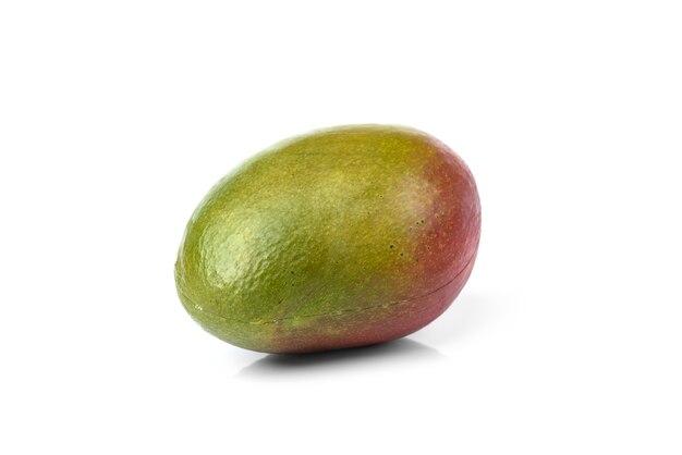 Mango geïsoleerd op een witte ondergrond