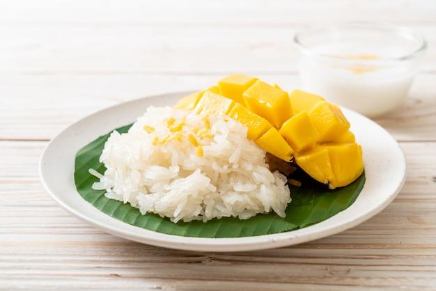 Mango met plakkerige rijst