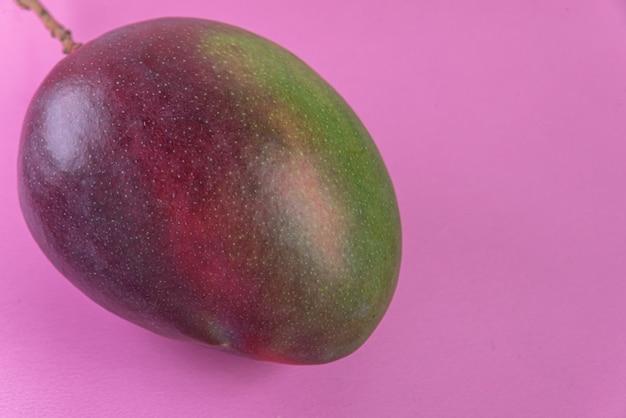 Mango op de roze achtergrond