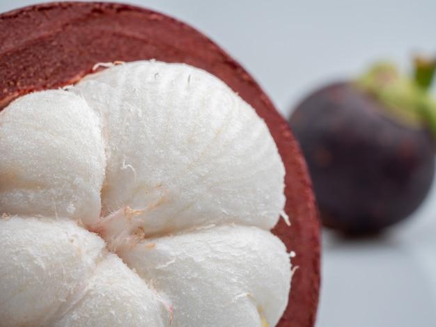 Mangostan is de fruitkoningin. en is een economische oogst van thailand