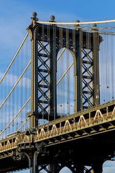 Manhattan bridge, new york city, verenigde staten