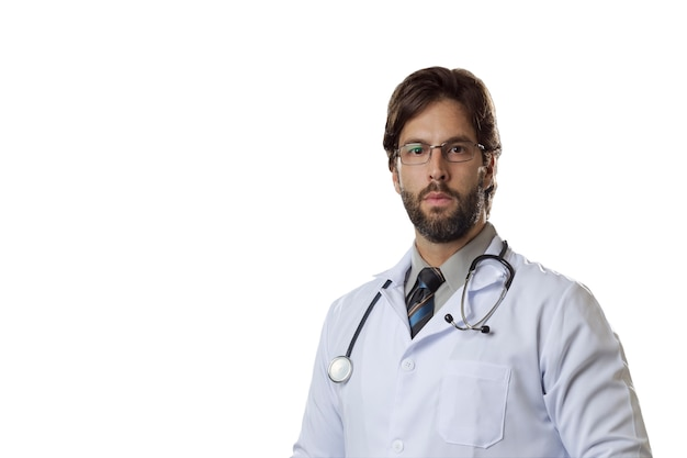 Mannelijke dokter.
