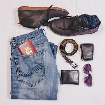 Mannelijke reisobjecten
