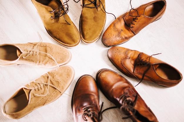 Mannen oxford schoenen
