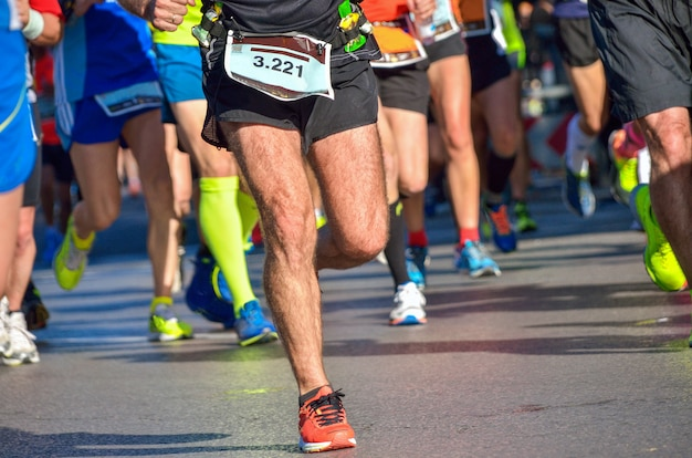 Marathon lopende race