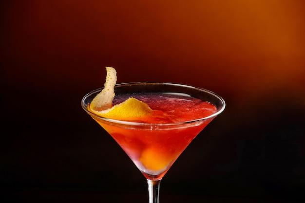 Margarita cocktail. detailopname
