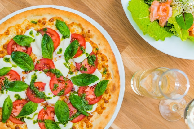 Margarita pizza italiana