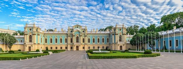 Mariinsky-paleis in kiev, oekraïne