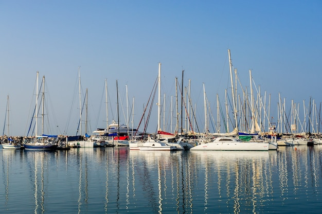 Marine parkeren van boten en jachten