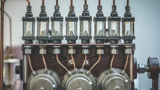 Marine spark plug engine