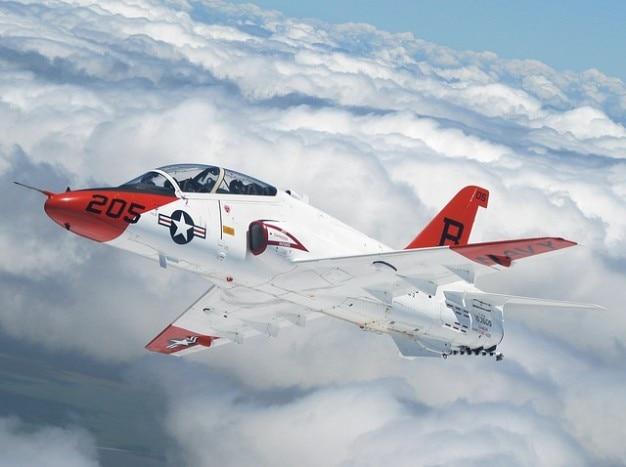 Marine usa flyer gevechtsvliegtuigen jet air force