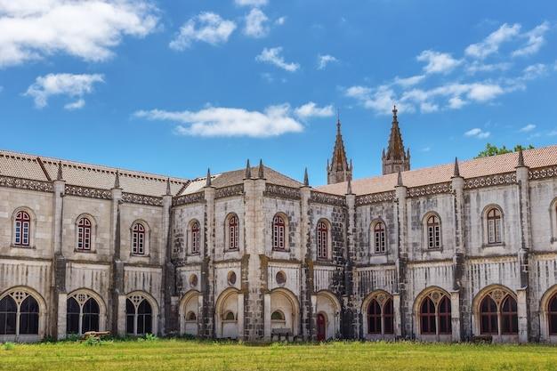 Maritiem museum, de binnenplaats, een historisch monument. jeronimos. lissabon