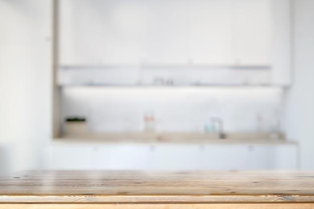 Marmeren aanrechtblad in de keuken