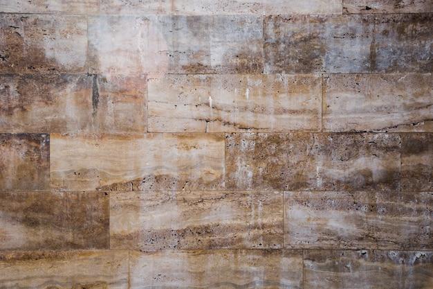 Marmeren effect stadsmuur