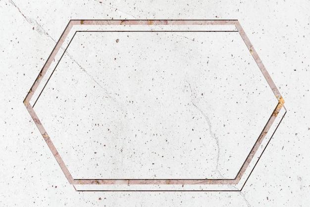Marmeren frame ontwerpruimte