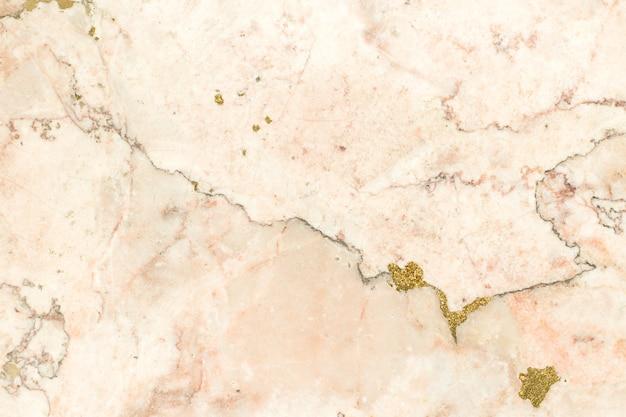 Marmeren licht beige en goud steen textuur lichte muur achtergrond