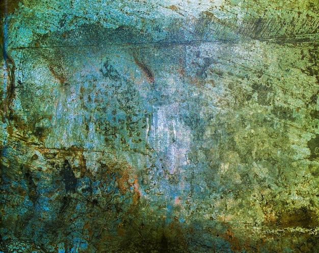 Marmeren roestige grunge geschilderde metalen oppervlak