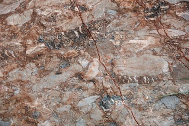Marmeren textuur. stenen crème achtergrond. hoogwaardige textuur van steen met scheuren