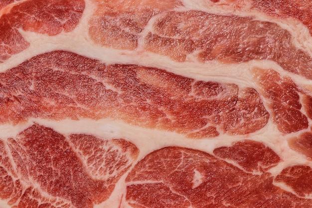Marmering van japans rundvlees, rauw rundvlees, vers vlees.