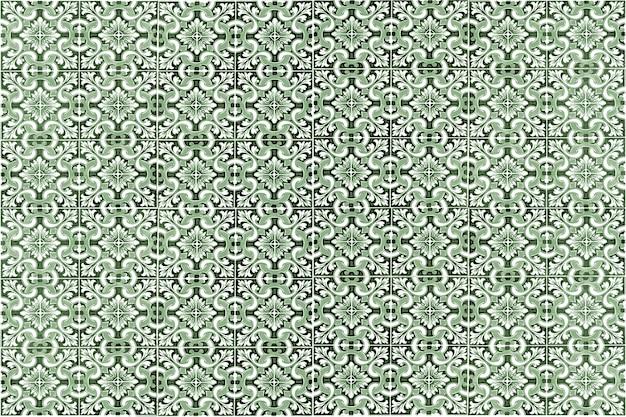 Marokkaans tegelpatroon. kleurrijke vintage keramische tegels wanddecoratie