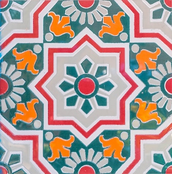 Marokko tegels achtergrond