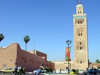 Marrakech avontuur, moskee, moroccotravel