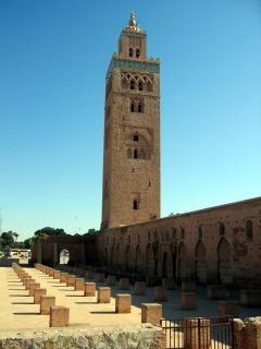 Marrakech avontuur, moskee