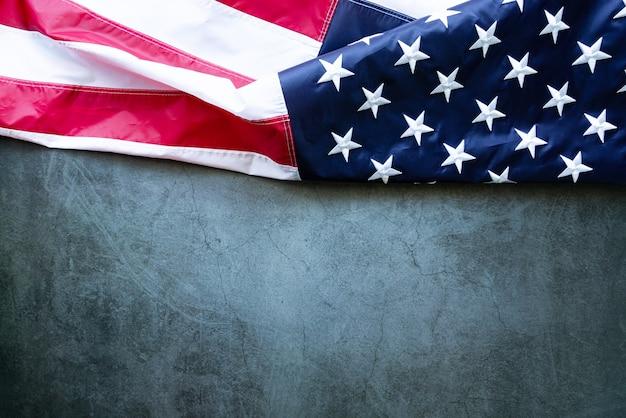 Martin luther king day verjaardag amerikaanse vlag