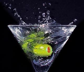 Martini, druppels