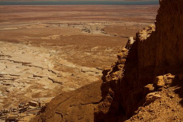 Masada, dode zee, israël