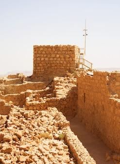 Masada, zomerdag