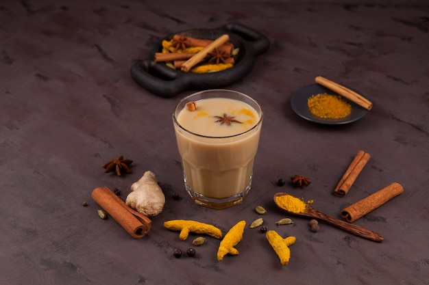 Masala-thee of karak chai.