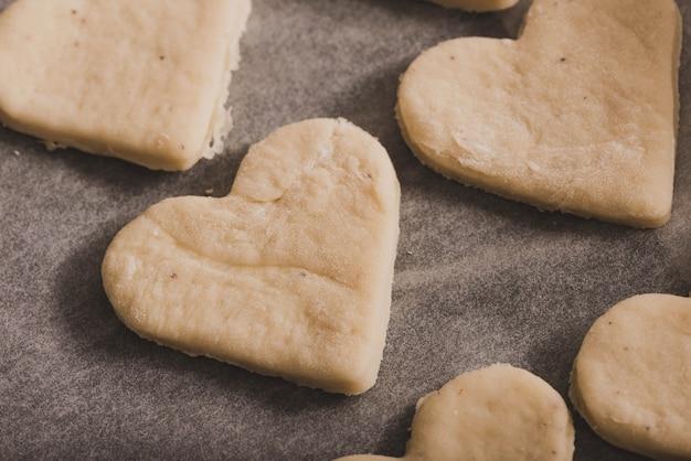 Massa van hart cookies