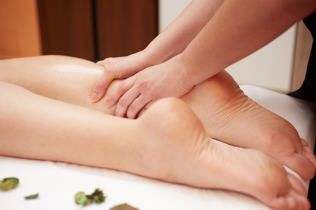 Massage bij wellnessclub