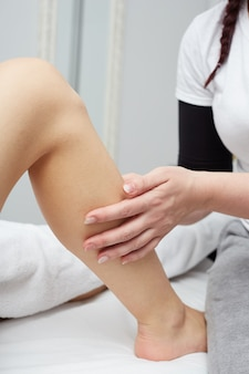 Massage in de wellnessclub