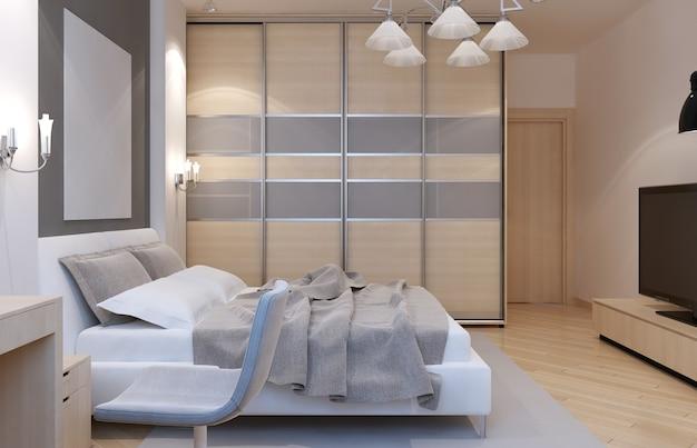 Master bedroom art decostijl