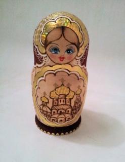 Matroesjka poppen houten