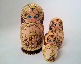 Matroesjka poppen moeder