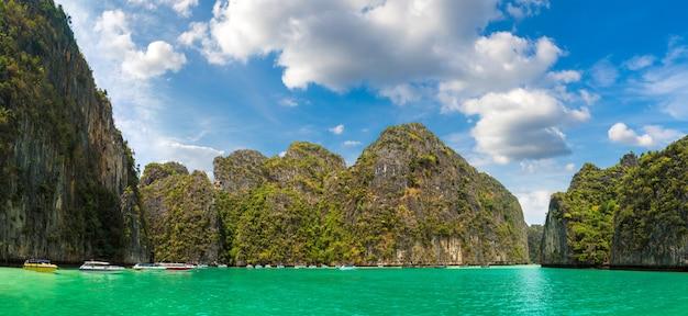 Maya baai op het eiland phi phi leh