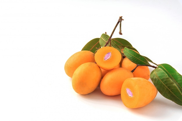 Mayongchit of grote marian pruim, thaise vruchten