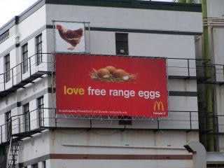Mcdonalds billboard