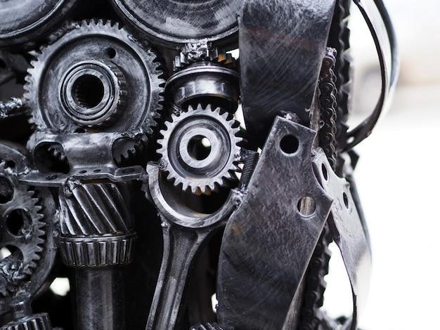 Mechanisch concept over delen van auto's